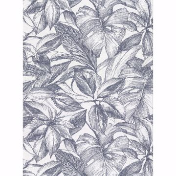 Picture of Simone Denim Tropical Wallpaper