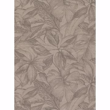 Picture of Simone Light Brown Tropical Wallpaper