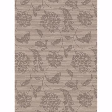 Picture of Holiday Brown Jacobean Wallpaper