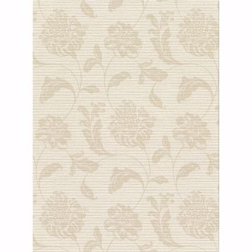Picture of Holiday Beige Jacobean Wallpaper
