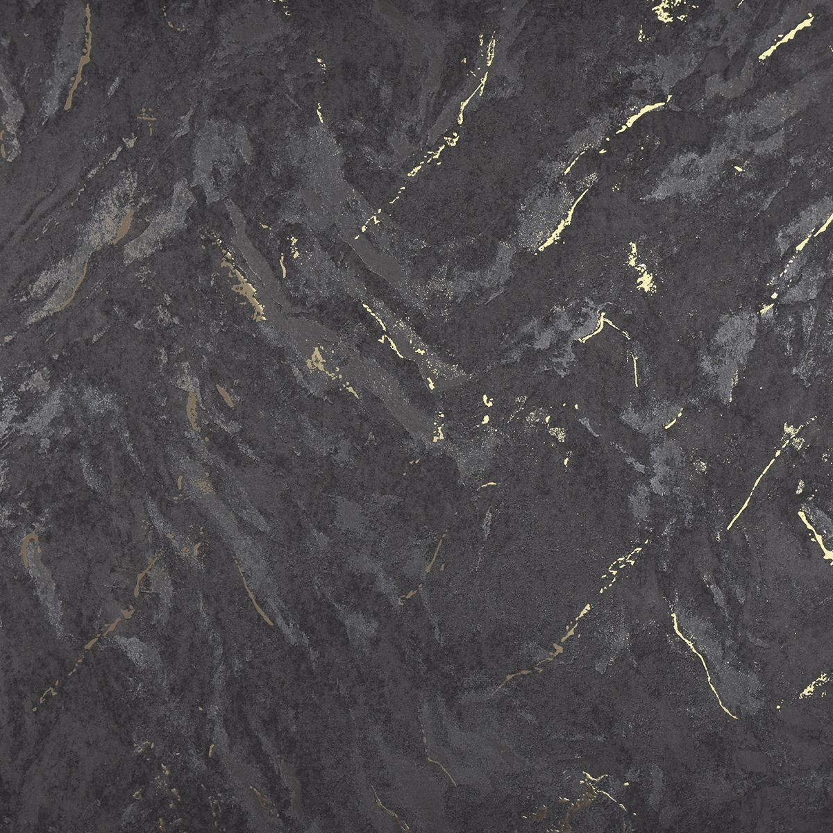 2927-00105 - Titania Black Marble Texture Wallpaper - by ...