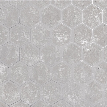Picture of Starling Grey Honeycomb Wallpaper