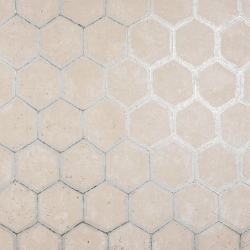 Picture of Starling Copper Honeycomb Wallpaper