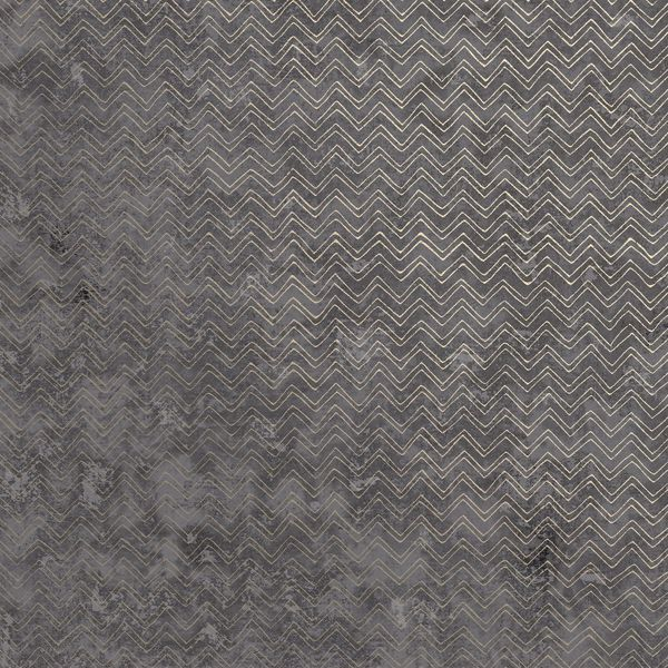 Picture of Luna Charcoal Distressed Chevron Wallpaper