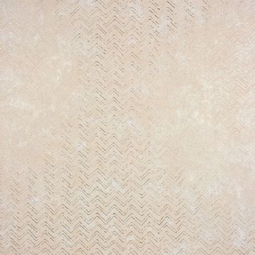 Picture of Luna Copper Distressed Chevron Wallpaper