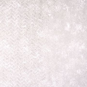 Picture of Luna Platinum Distressed Chevron Wallpaper
