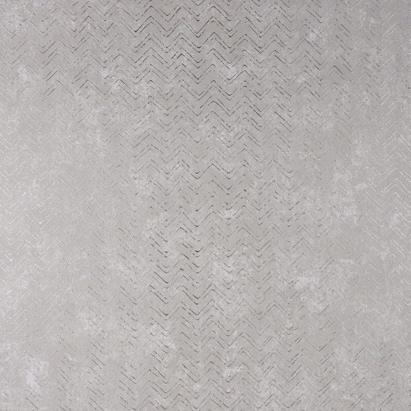 Picture of Luna Silver Distressed Chevron Wallpaper