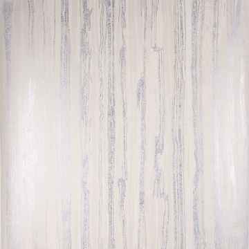 Picture of Nova Platinum Faux Wood Wallpaper