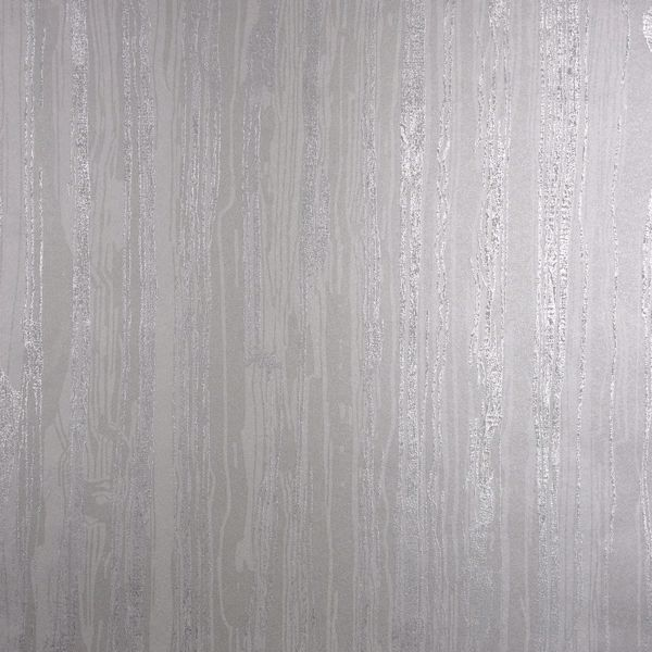 Picture of Nova Silver Faux Wood Wallpaper