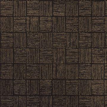 Picture of Glint Black Distressed Geometric Wallpaper
