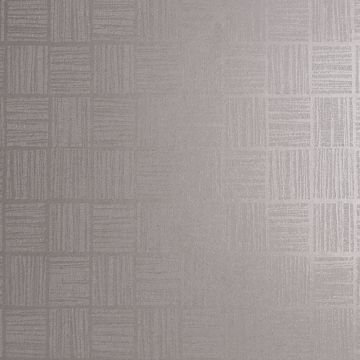 Picture of Glint Silver Distressed Geometric Wallpaper