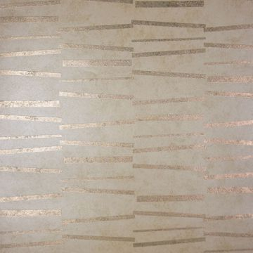 Picture of Luminescence Gold Abstract Stripe Wallpaper