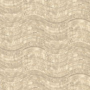Picture of Hydra Taupe Geometric Wallpaper