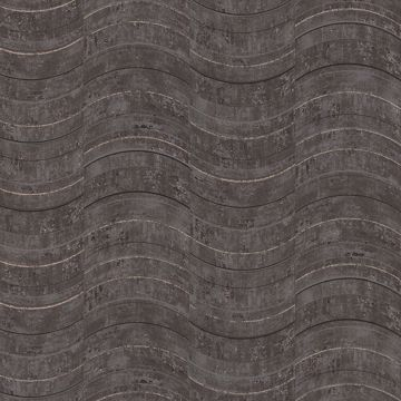 Picture of Hydra Dark Grey Geometric Wallpaper
