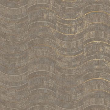 Picture of Hydra Light Grey Geometric Wallpaper