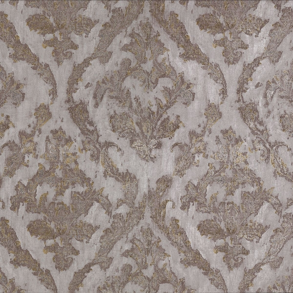 Picture of Lyra Bronze Damask Wallpaper