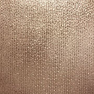 Picture of Carbon Rose Gold Honeycomb Geometric Wallpaper