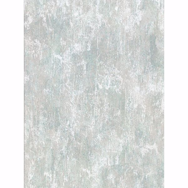 Picture of Micah Teal Distressed Texture Wallpaper