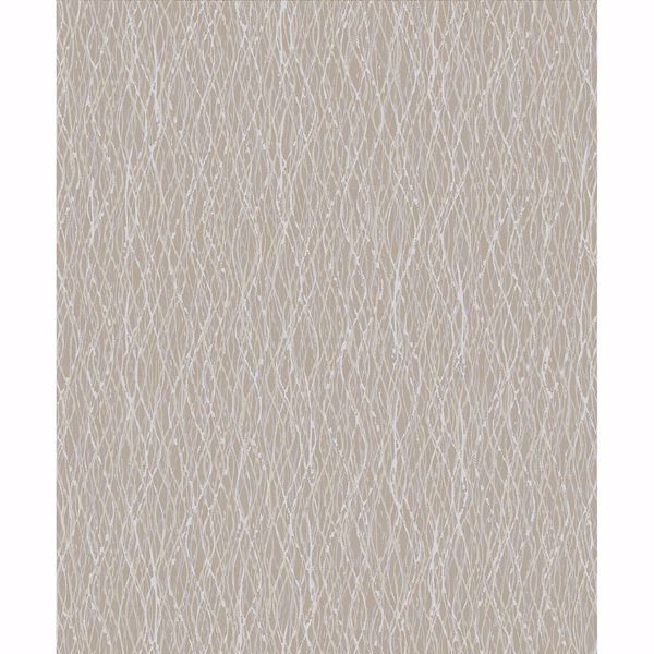 Picture of Molly Light Brown Twist Wallpaper