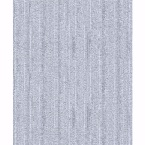 Picture of Kinsley Light Grey Distressed Stripe Wallpaper