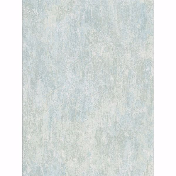 Picture of Micah Seafoam Distressed Texture Wallpaper