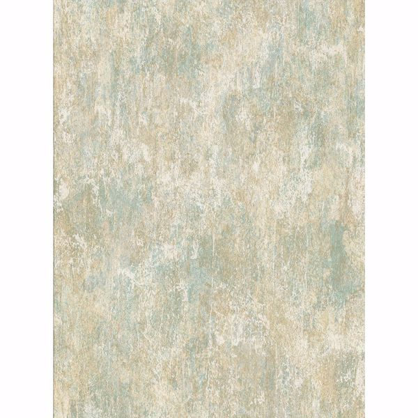 Picture of Micah Green Distressed Texture Wallpaper