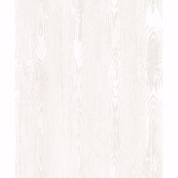 Picture of Jaxson White Faux Wood Wallpaper