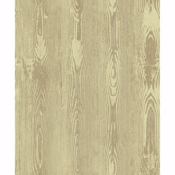 Picture of Jaxson Gold Faux Wood Wallpaper