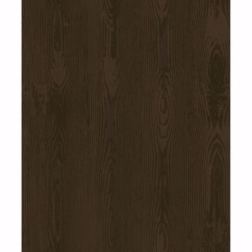 Picture of Jaxson Brown Faux Wood Wallpaper