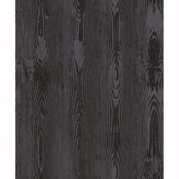 Picture of Jaxson Metallic Faux Wood Wallpaper