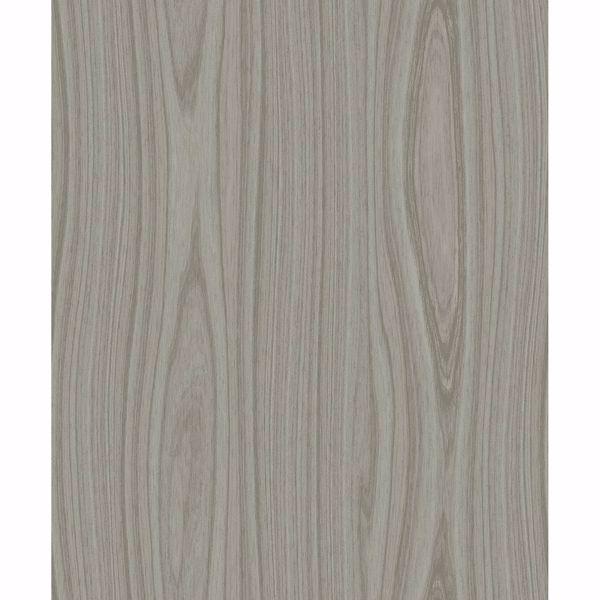 Picture of Jaxson Mahogany Faux Wood Wallpaper
