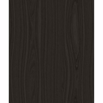 Picture of Jaxson Dark Brown Faux Wood Wallpaper