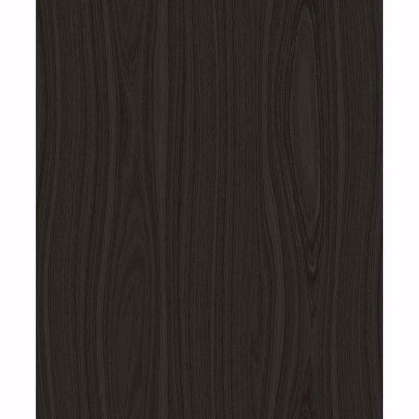 Picture of Jaxson Dark Brown Faux Wood Wallpaper