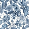 Picture of Josefa Blue Tropical Wallpaper