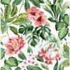 Picture of Josefa Green Tropical Wallpaper