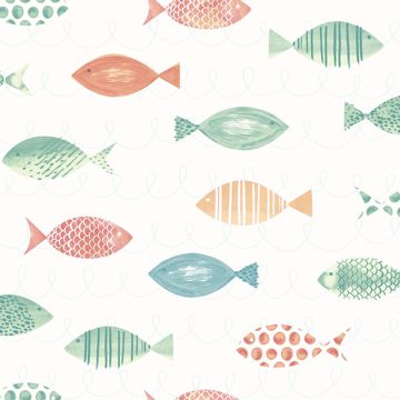 Picture of Key West Orange Sea Fish Wallpaper