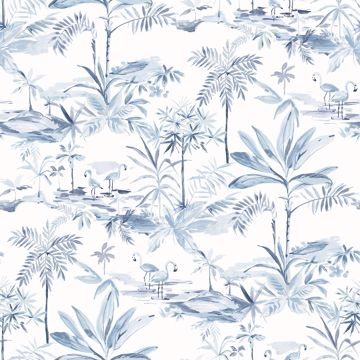 Picture of Lagoon Blue Scenic Island Wallpaper