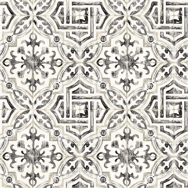 Picture of Sonoma Black Beach Tile Wallpaper