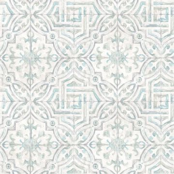 Picture of Sonoma Light Grey Beach Tile Wallpaper