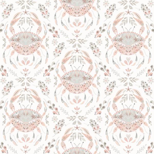 Picture of Annapolis Coral Crustacean Wallpaper