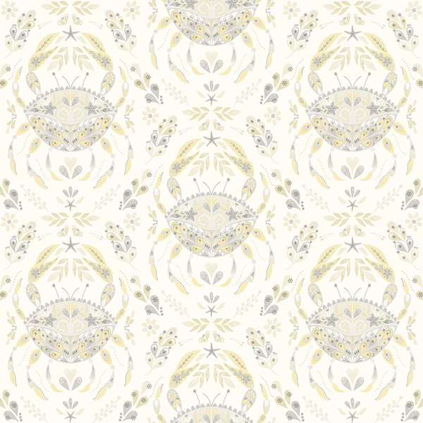Picture of Annapolis Grey Crustacean Wallpaper