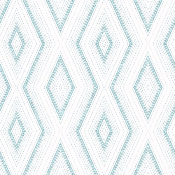 Picture of Santa Cruz Turquoise Geometric Wallpaper