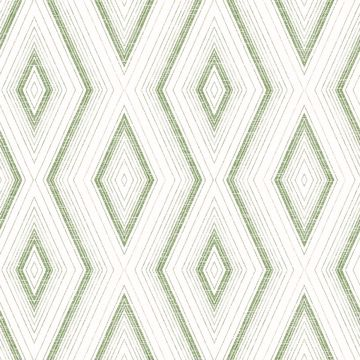 Picture of Santa Cruz Green Geometric Wallpaper