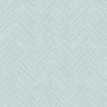 Picture of Caladesi Teal Faux Linen Wallpaper