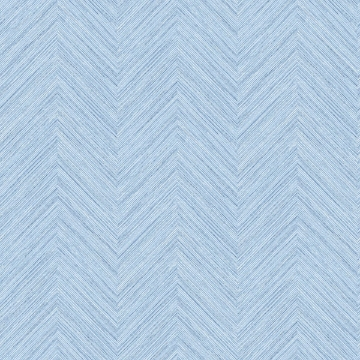 Picture of Caladesi Light Blue Faux Linen Wallpaper