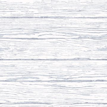 Picture of Rehoboth Light Blue Distressed Wood Wallpaper