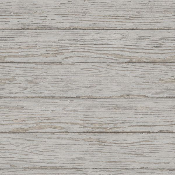 Picture of Rehoboth Grey Distressed Wood Wallpaper