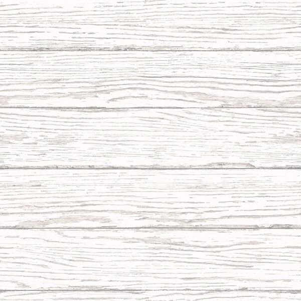 Picture of Rehoboth White Distressed Wood Wallpaper
