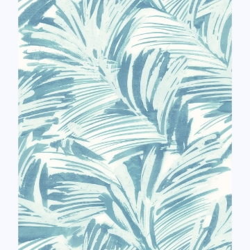 Picture of Chaparral Aqua Fronds Wallpaper
