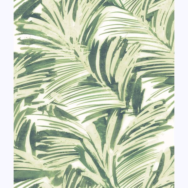Picture of Chaparral Green Fronds Wallpaper